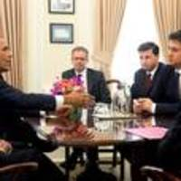Miliband meets Obama at White House