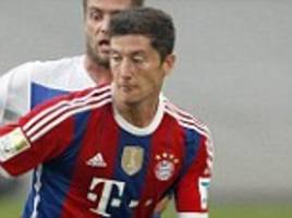 Robert Lewandowski scores for Bayern Munich in first pre-season appearance