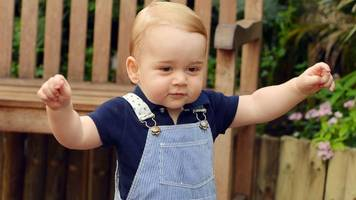First unaided steps: Royal first birthday party planned for Prince George