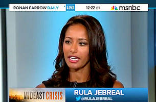 MSNBC Guest Scolds Network for Lack of Palestinian Views: 'Disgustingly Biased'